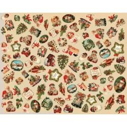 Papel decorado para decoupage Artepatch de Artemio modelo Navidad Vintage