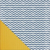 Feels Like Home - Denim Chevron