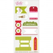 Christmas Countdown Stickers Tabs