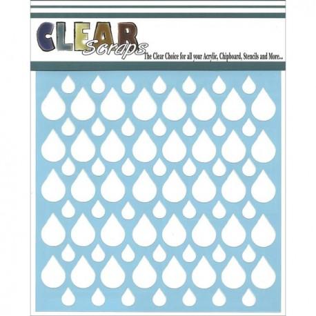 Template 6X6 - Rain Drop
