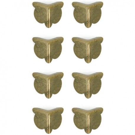 Treasures Metal Corners .8Ud Antique Brass