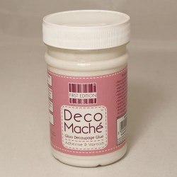Barniz cola con acabado mate first Edition Deco Mache