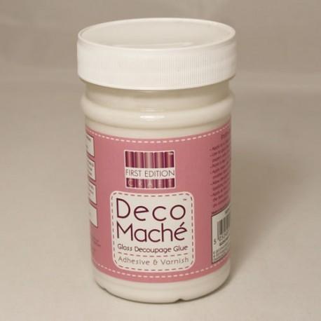 Barniz cola con acabado mate first Edition Deco Mache