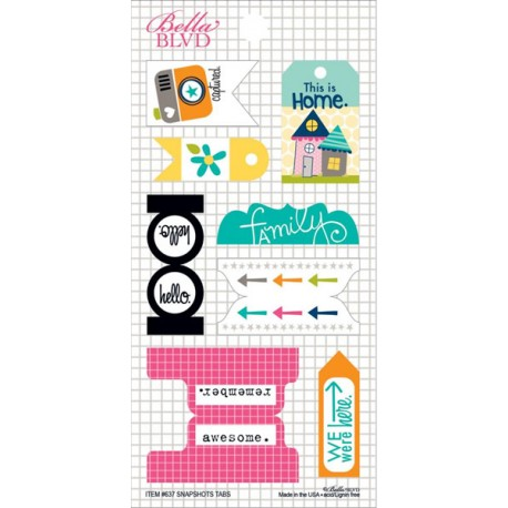 Snapshots Stickers - Tabs