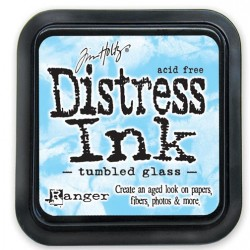 Distress Ink Pad - Tumbled Glass
