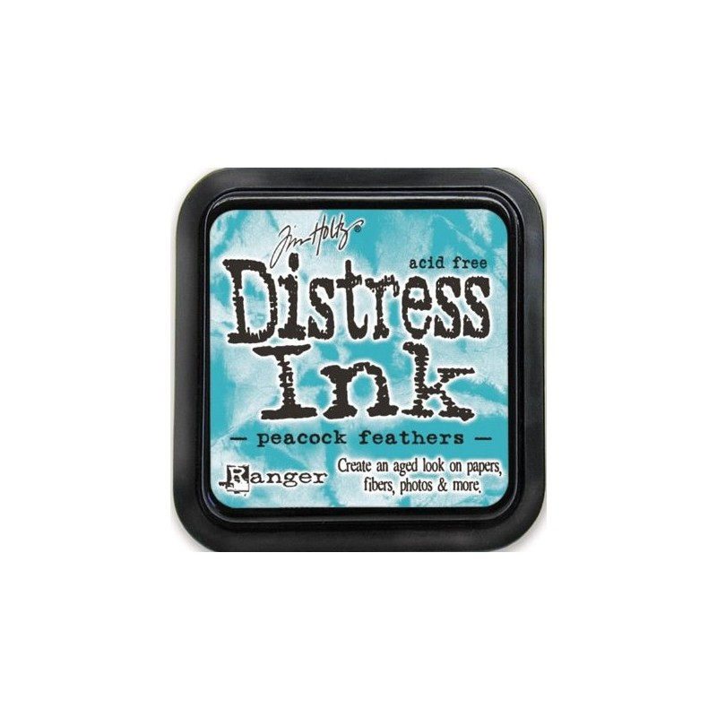Distress Ink Pad - Peacock Feathers
