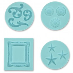 Crafters Clay Silicone Molds Deco