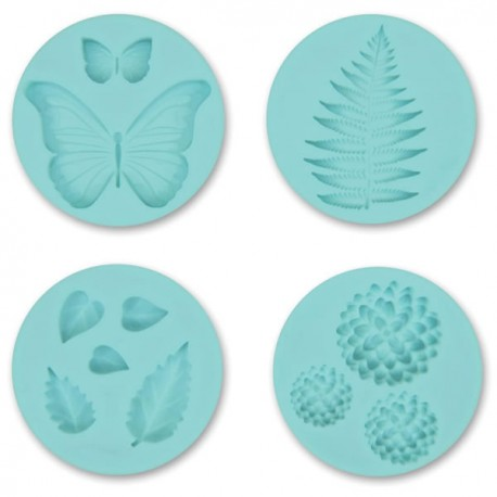 Crafters Clay Silicone Molds Garden
