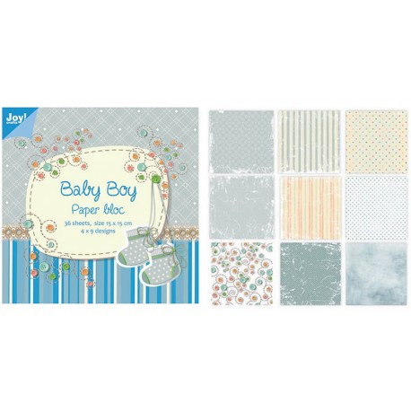 Paper Pad Baby Boy