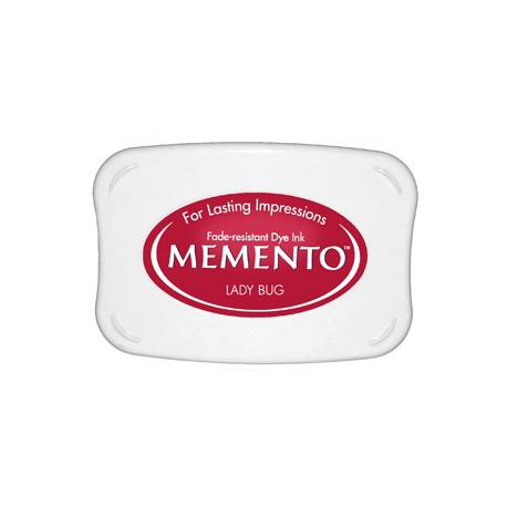 Tampón de tinta Memento Pad Lady Bug de Tsukineko