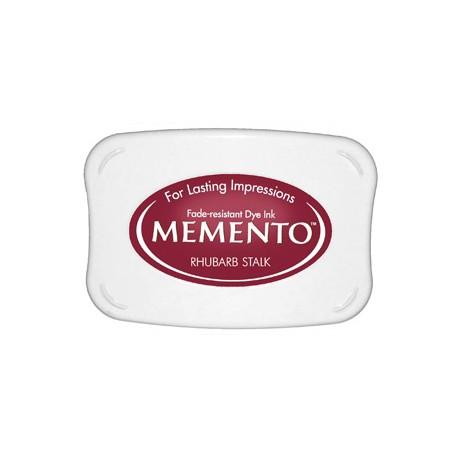 Tampón de tinta Memento Pad Rhubarb Stalk de Tsukineko