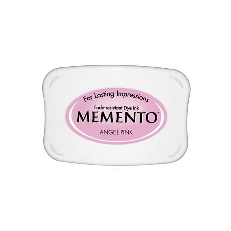 Tampón de tinta Memento Pad Angel Pink de Tsukineko
