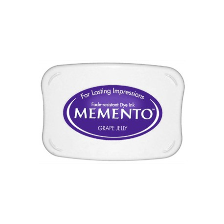 Tampón de tinta Memento Pad Grape Jelly de Tsukineko