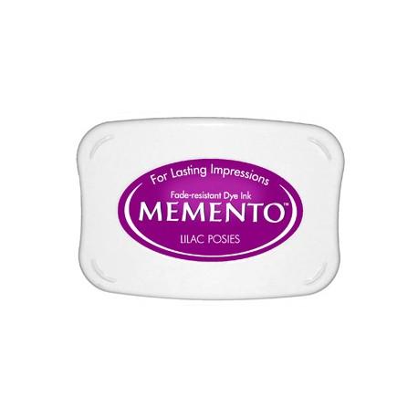 Tampón de tinta Memento Pad Lilac Posies de Tsukineko