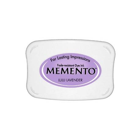Tampón de tinta Memento Pad Lulu Lavender de Tsukineko
