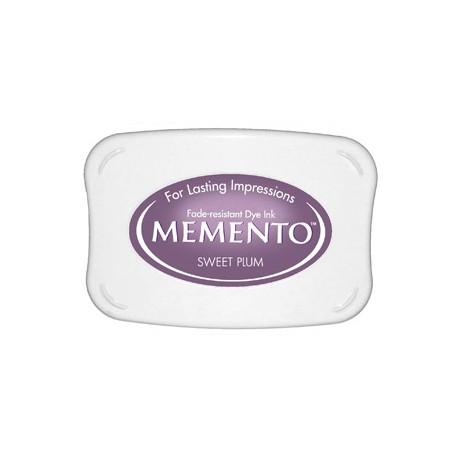 Tampón de tinta Memento Pad Sweet Plum de Tsukineko