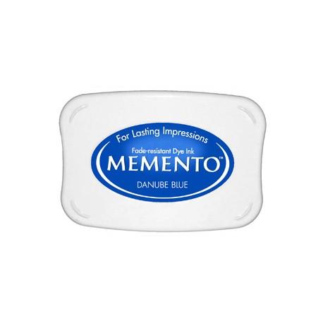 Tampón de tinta Memento Pad Danube Blue de Tsukineko