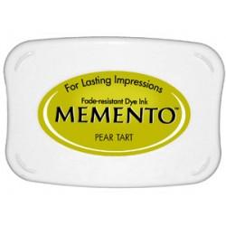Tampón de tinta Memento Pad Pear Tart de Tsukineko