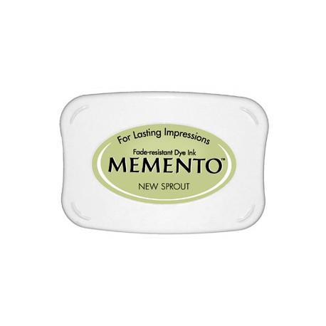Tampón de tinta Memento Pad New Sprout de Tsukineko