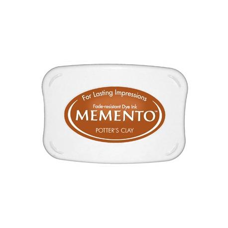 Tampón de tinta Memento Pad Potter's Clay de Tsukineko