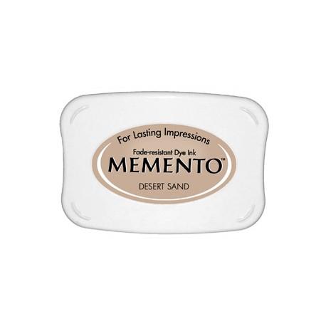 Tampón de tinta Memento Pad Desert Sand de Tsukineko