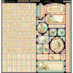 Sweet Sentiments - Alpha Borders Tags