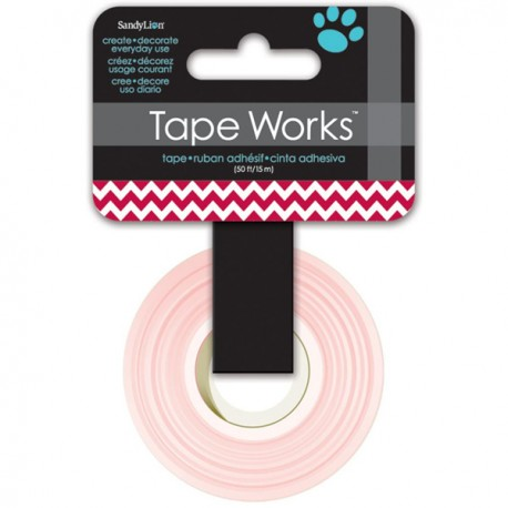 Masking Tape - CHEVRON DEEP REED