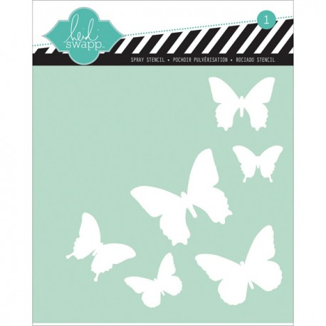 Template 6X6 - Butterfly