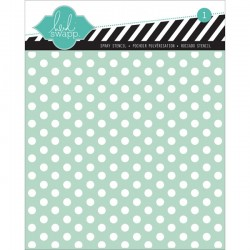 Template 6X6 - Polka Dot