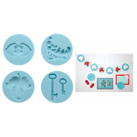 Clay Silicone Mold - Antique