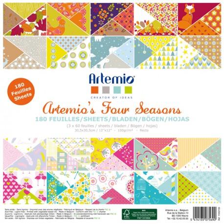 Four Seasons Paper Pad