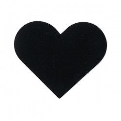 Etiquetas pizarra corazón