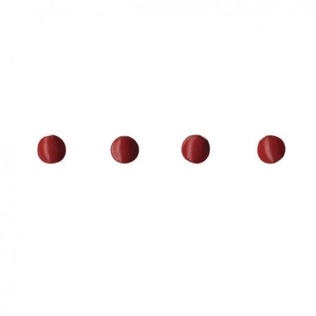 Mini remaches rojo