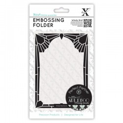 Embossing folder - Diamond frame