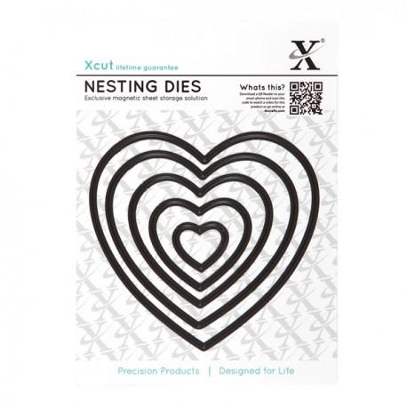 Xcut Nesting Dies - Heart