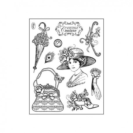 Surtido sellos Vintage Couture