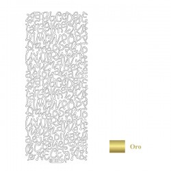 Peel Off - Alfabeto oro