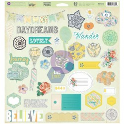 Free Spirit Self - Adhesive Chipboard