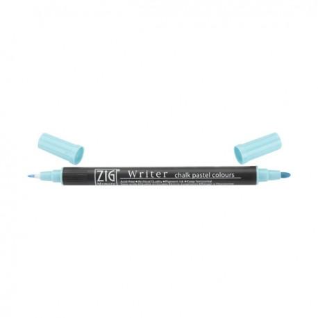 Rotulador Zig Chalk Azul