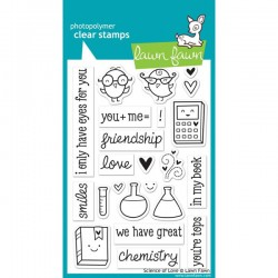 Clear Stamps Science Of Love