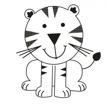 Mini Clear Stamps Tiger