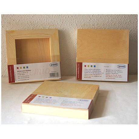 Lienzo de madera 15x15