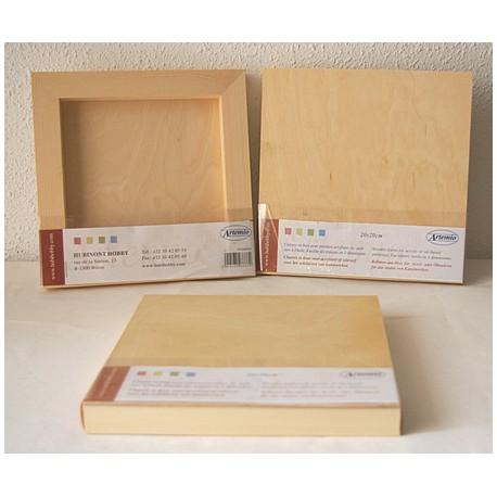 Lienzo de madera 20x20