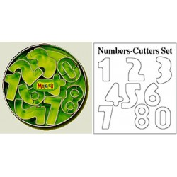 Cortador set - Numbers