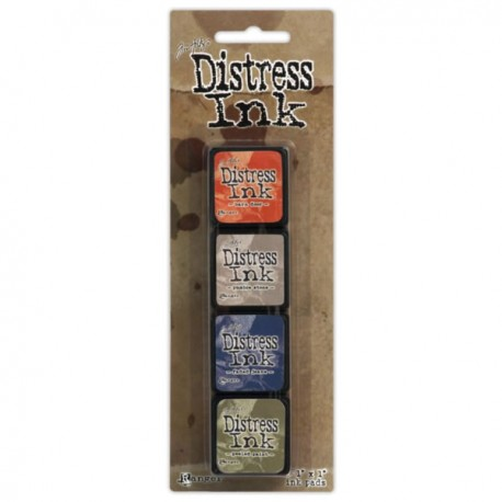 Distress Mini Ink Kits - 5