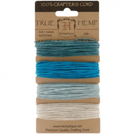 Hemp Cord - Aquamarine
