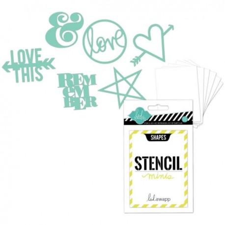 Mini Stencils Kit - Shapes