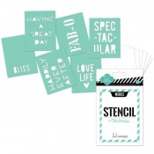 Mini Stencils Kit - Words