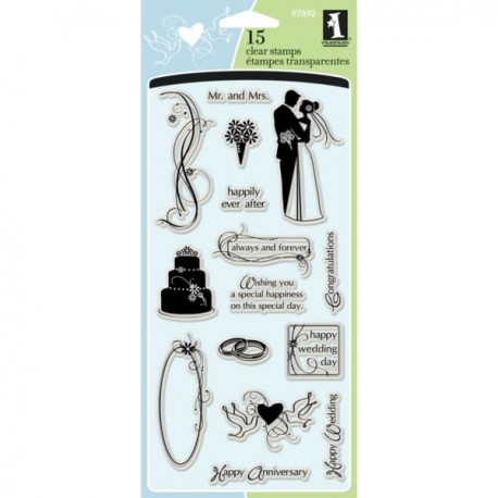 Mariage Clear Stamp