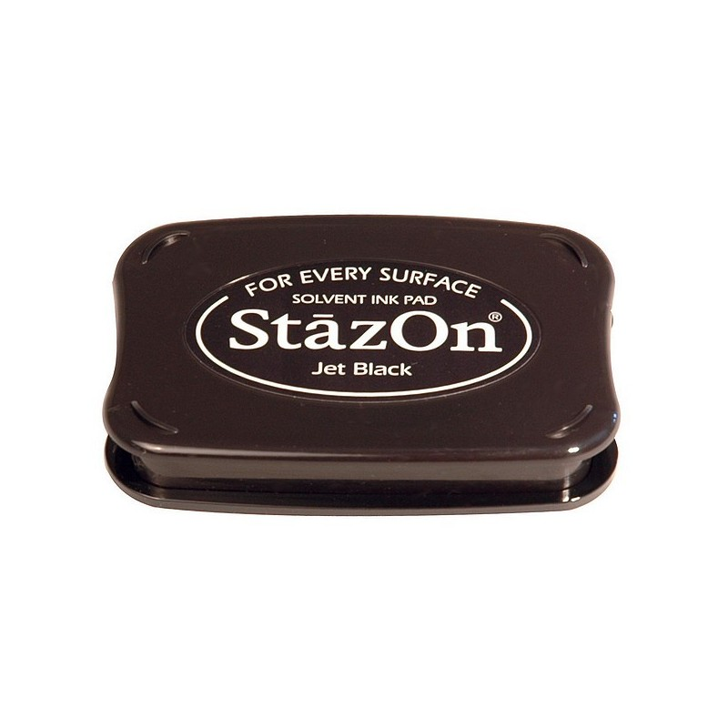 Tampón de Tinta Stazon Negro